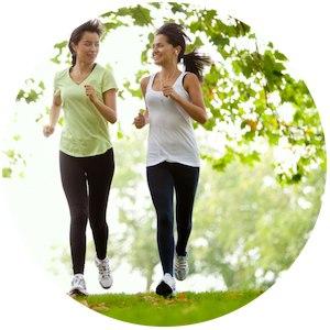 Bewegung und Sport macht wach und kurbelt den Stoffwechsel an